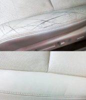 Чистка, реставрация кожаного салона автомобиля