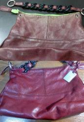Ремонт, покраска кожаных сумок в Геленджике